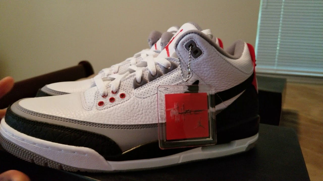 official photos 7d0fd f10b5 NIKE AIR JORDAN 3 TINKER AND JORDAN 3 KATRINA HALL OF FAME REVIEW