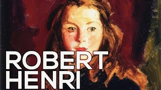 Robert Henri: A collection of 77 paintings (HD)