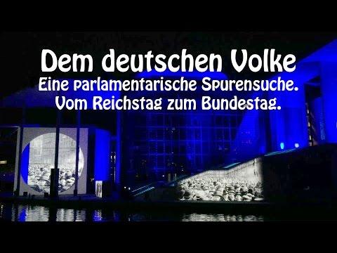 Vom Reichstag zum Bundestag, dem deutschen Volke - Spreeufer Freitreppen Friedrich-Ebert-Platz