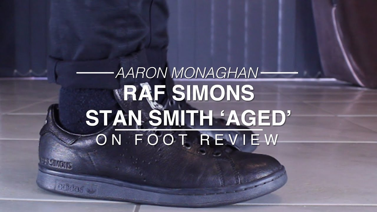 meet 872ab d1584 Adidas Raf Simons Stan Smith 'Aged' Review & On Foot