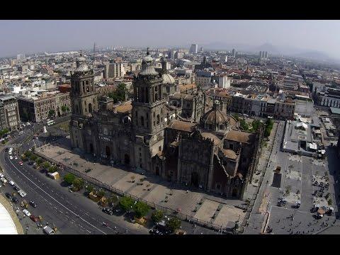 Beauty Mexico City video drone Xiro xplorer V. Мексика видео с дрона.