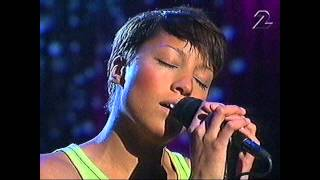 Jessica Folcker - To Be Able To Love Live 2001