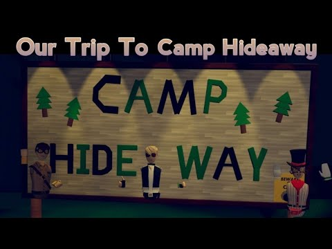 Our stay at Camp Hideaway - Rec Room