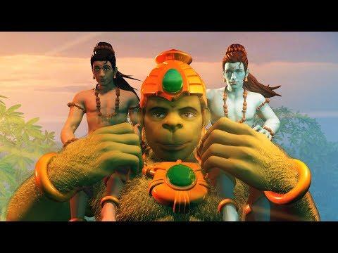 "Happy Hanuman Jayanti from ""Hanuman Vs Mahiravana"" Movie team"
