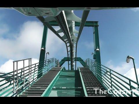 Alpengeist Front seat HD POV roller coaster - Busch Gardens Williamsburg