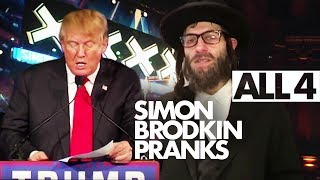 Simon Brodkin's EPIC PRANKS - Rapping Rabbis, Donald Trump, Simon Cowell & BGT!! 24/7 Live Stream