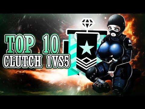 TOP 10 : Le 1 VS 5 HEROÏQUE (Sublime) - Rainbow Six Siege