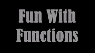 "The Making of ""Fun With Functions"" - A Java Coding Timelapse"