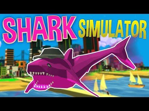 Shark Simulator - Jet Packs, Grenade Launchers & Crazy Sharks!? - Shark Simulator Gameplay