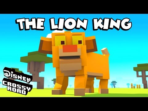 Disney Crossy Road | The Animated Series | Scar and Lion King Friends