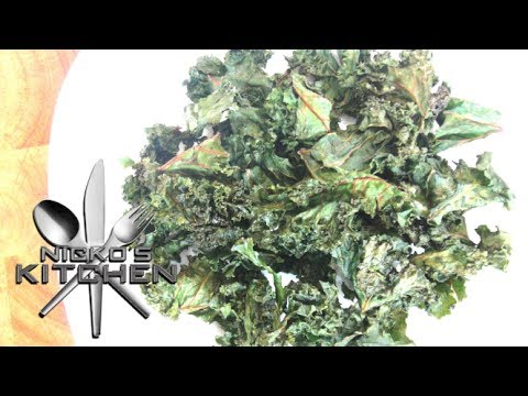 How to make Kale Chips - Video Recipe