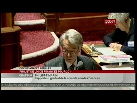 Projet de loi de finances pour 2011 - Examen des articles de la 1ère partie - Séance (22/11/2010)