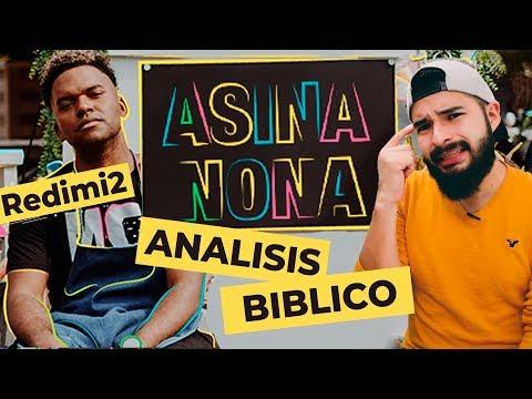 ANÁLISIS BÍBLICO ASINA NONA REDIMI2 (Video Oficial) | AndyVlog!