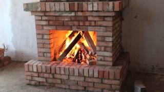 видео Порядовка печей, изготовление декоративного камина