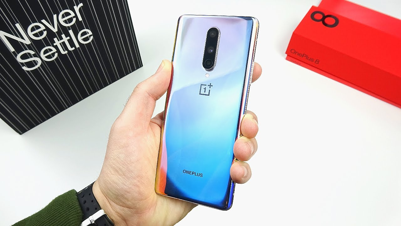 OnePlus 8 Unboxing & First Impressions!