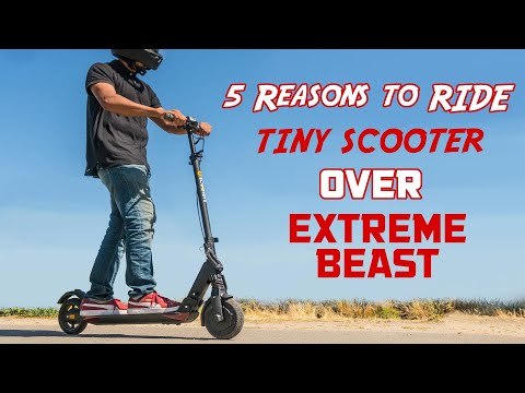 Top 5 Reasons Why the UScooters Booster GT SE Beats the Baddest Beast in the World!