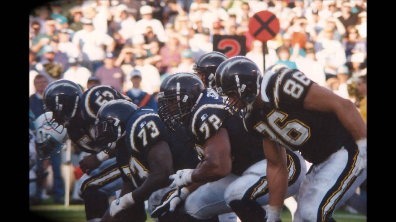 1994 San Diego Chargers Divisional Playoff Game Youtube