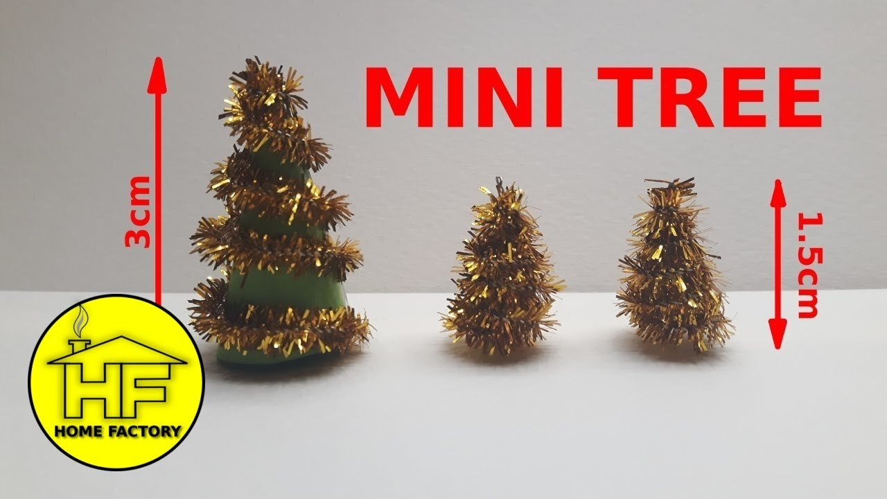 how to make a small christmas tree