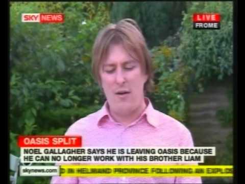 OASIS SPLIT - Sky News Reports, Fans, John Harris And Clint Boon Speak - 29th August 2009