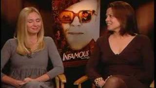 SIGOURNEY WEAVER AND HOPE DAVIS DISH ON INFAMOUS DIVAS