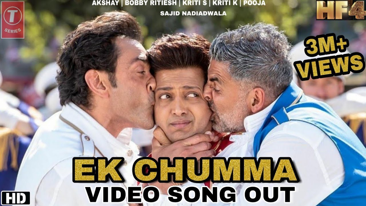 Housefull 4 Ek Chumma Video Song Record Akshay Kumar, Bobby, Ritiesh, Kriti Pooja Housefull 4 songs