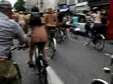 WNBR London 2008 - Rider's view of Oxford St