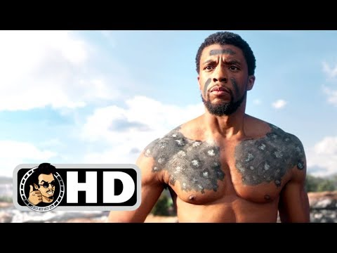 BLACK PANTHER Movie Clip - T'Challa's Ceremony (2017) Marvel Movie HD