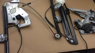 DIY BMW E38 E39 E36 E34 Window Regulator Fix And Common Failure Points