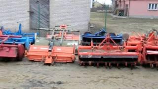 Glebogryzarki do mini ciągników-traktorków ogrodowych. www.akant-ogrody.pl