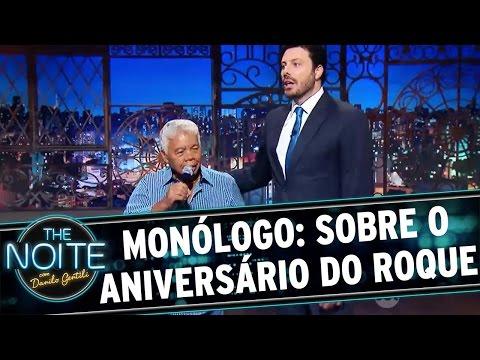 The Noite (31/03/16) - Monólogo: Elenco Comemora O Aniversário Do Roque
