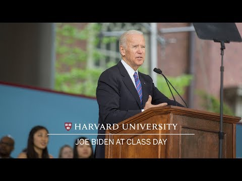 Vice President Joe Biden: Class Day Speech | Harvard Commenc