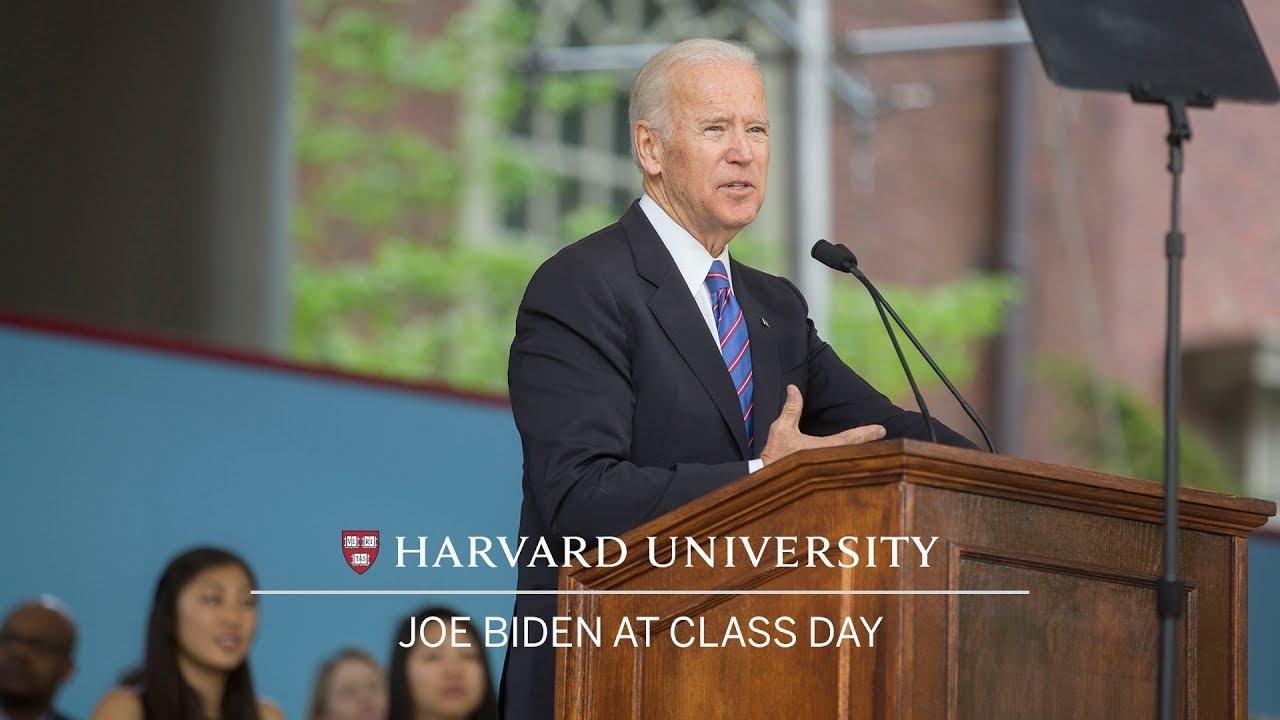 Vice President Joe Biden: Cl**** Day Speech | Harvard Commencement 2017
