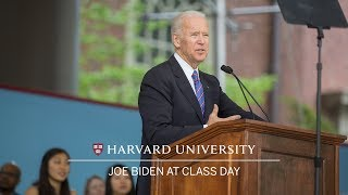 Vice President Joe Biden: Class Day Speech | Harvard Commencement 2017 thumbnail