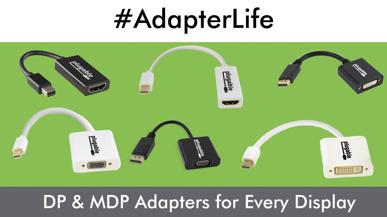 Active & Passive DisplayPort Adapters for Every Display Scenario
