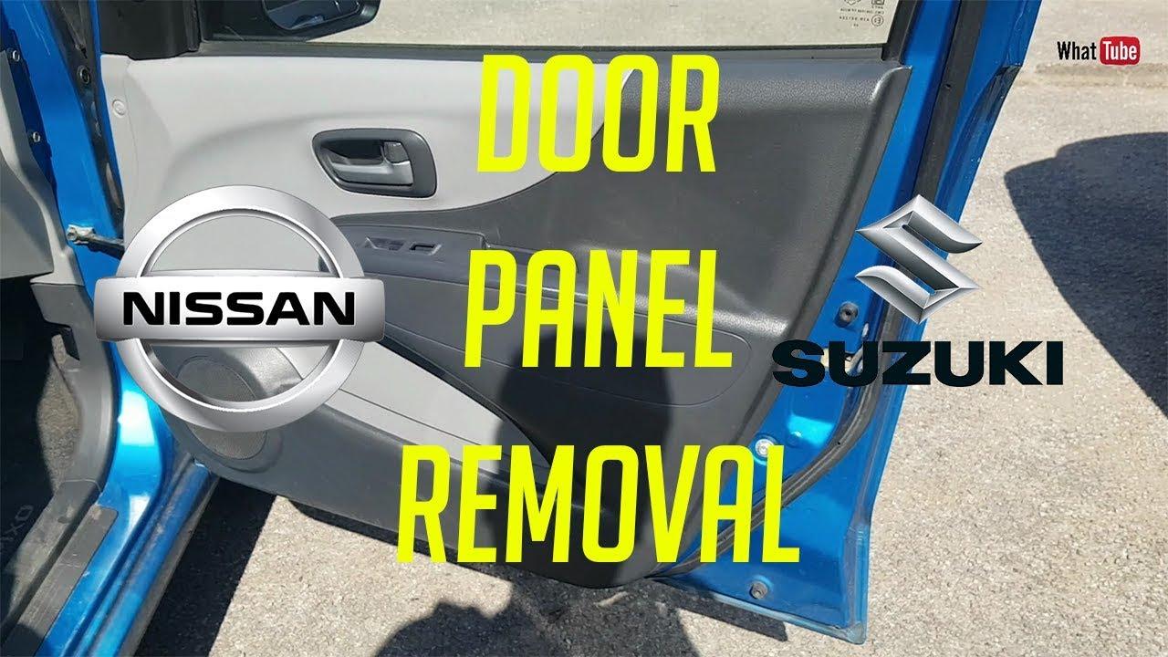 How To Remove Car Door Panel Suzuki Alto And Nissan Pixo