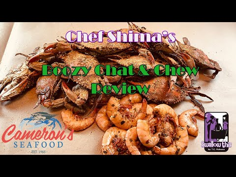 Cameron's Seafood Review Mukbang - A Boozy Chat and Chew