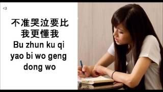 吳汶芳 Wu Wen Fang 我在哪裡 Wo Zai Na Li (Lyrics/Pinyin)