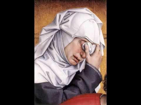 Johannes Ockeghem: Planctus sur la mort de Binchois 3/4 Retoricque, se Dieu me gard