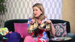 Sophie Robinson from Great Interior Design Challenge on how to wear bold colours