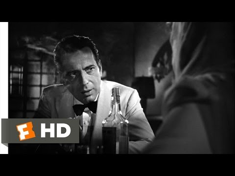 Casablanca (3/6) Movie CLIP - I Don't Know the Finish (1942) HD