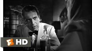 Casablanca (3/6) Movie CLIP - I Don't Know the Finish (1942) HD