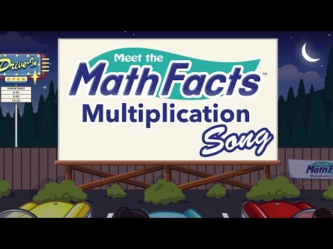 Meet the Math Facts - Multiplication Song