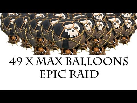 Clash of Clans - 49 MAX LOON ATTACK