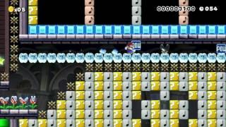 120秒のTASジャンありスピラン Super Mario Maker