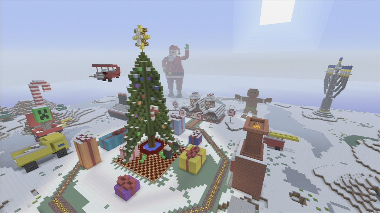 Christmas Minecraft World.Mr Vvolf S Minecraft Christmas World