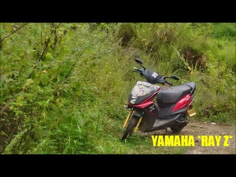 Yamaha RAY Z Modified With k&n Filter