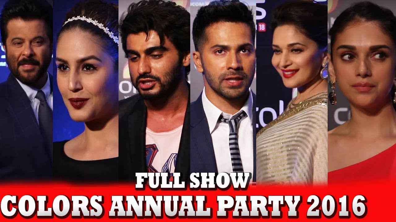 Spotted Bollywood Celebs At Colors Annual Party 2016
