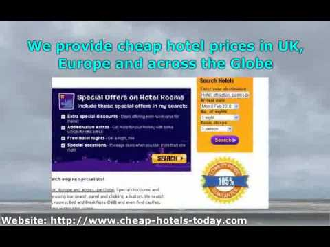 Last Minute Hotel Deals in London UK