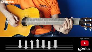 Cómo tocar Gracias a ti de Wisin Y Yandel en Guitarra Acústica | Tutorial | Acordizate