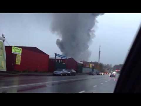 Пожар вьетнамский рынок Казань